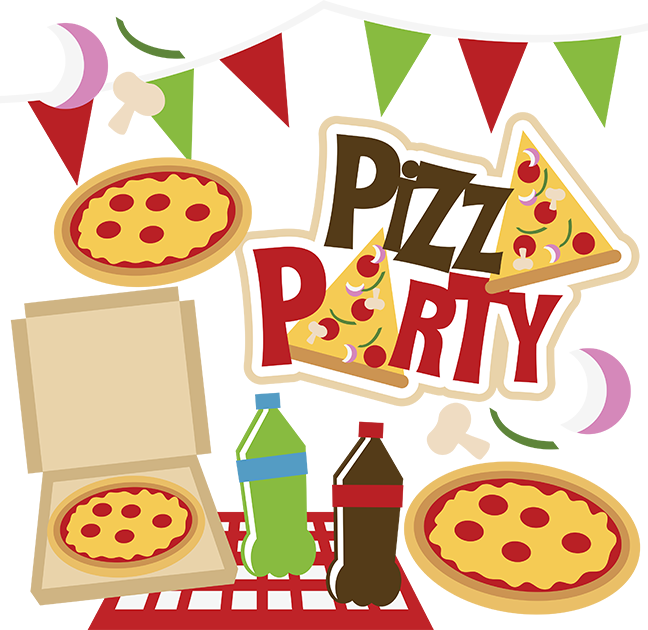 Stop What You're Doing. Today Is Pizza Party Day