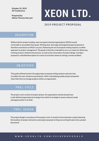Customize 203+ Proposal templates online Canva