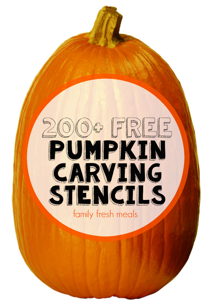 200+ Free Pumpkin Carving Stencils Family Fresh Meals