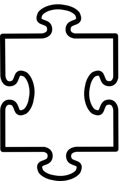 Printable Puzzle Pieces Template ClipArt Best ClipArt Best