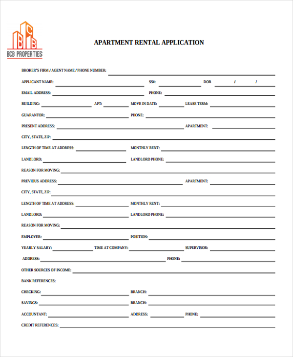 Free Rental & Lease Application Forms | EZ Landlord Forms