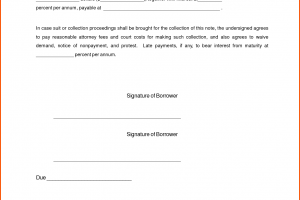 simple promissory note business letter simple promissory note letter document sample