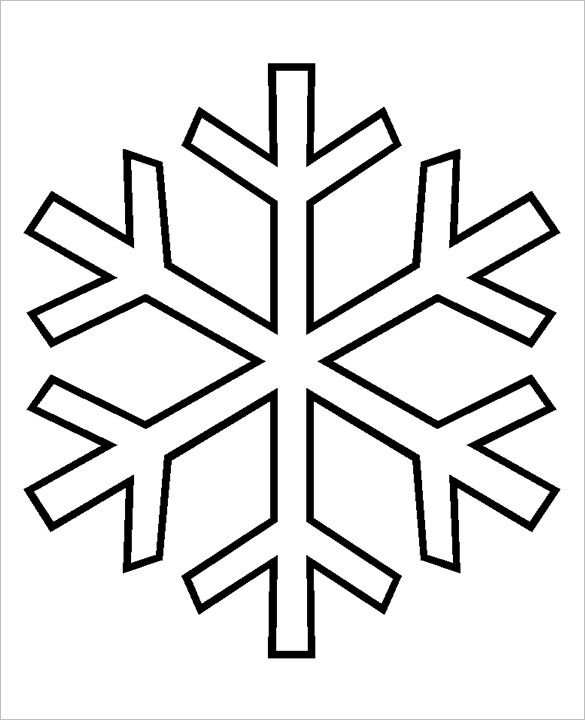 Free Snowflake Patterns Simple … | Pinteres…