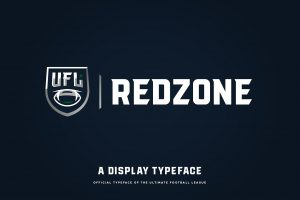 sports fonts cm redzone typeface