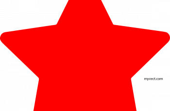 star vector red star vector