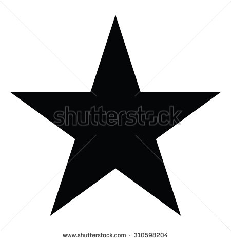 Star Vector Shape Icon Symbol Stock Vector HD (Royalty Free