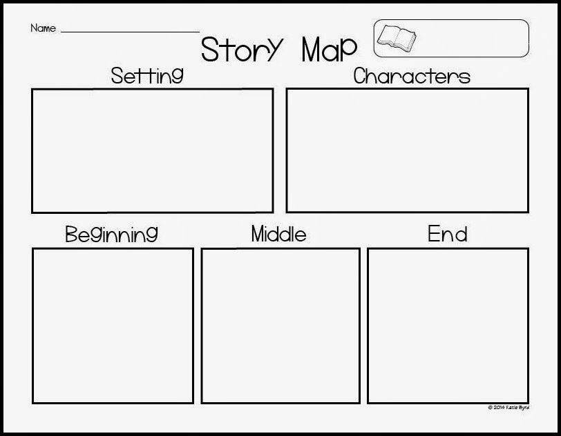 Story Map Freebie! | Kindergarten, Sketches and Literacy