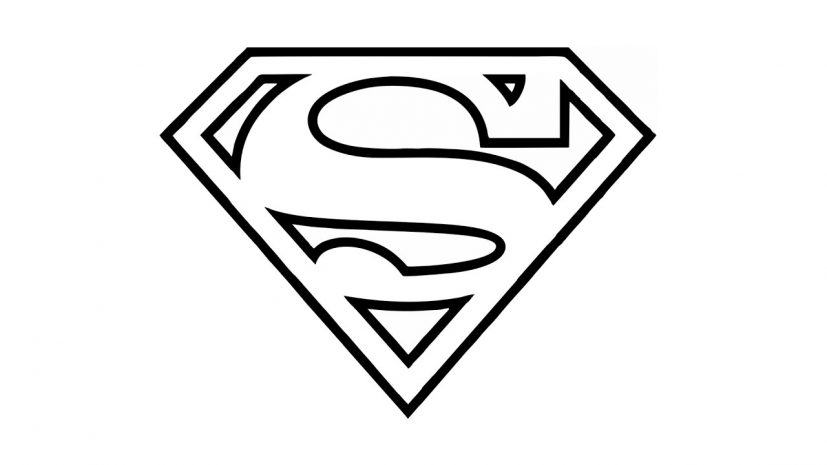 How to Draw the Superman Logo (symbol) YouTube