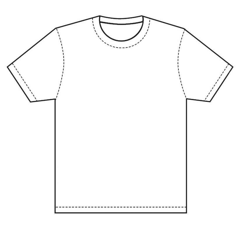 T Shirt Template | Design T Shirt Template, this is great for if