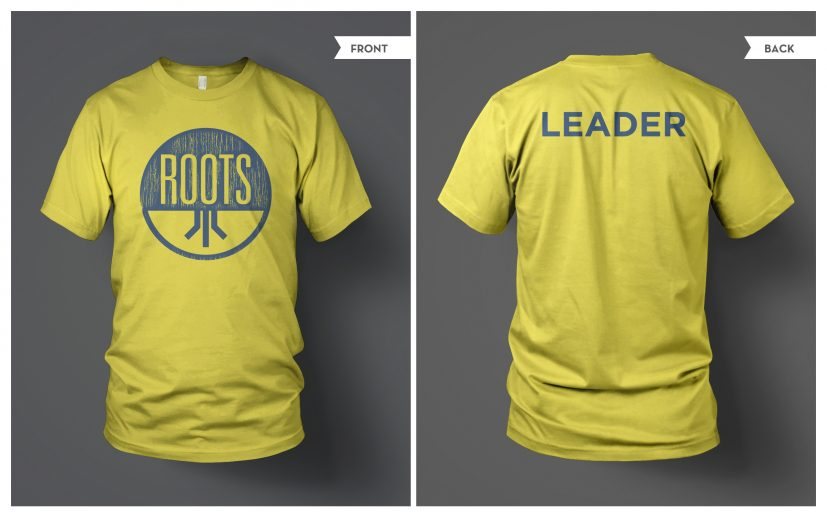 T Shirt Template Both (PSD) | Roots | Free Church Resources from