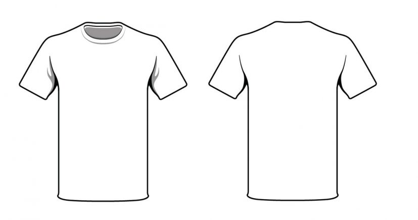 Shirt Template Psd Blank Tshirt Turzmko0 Simple Turzmko0