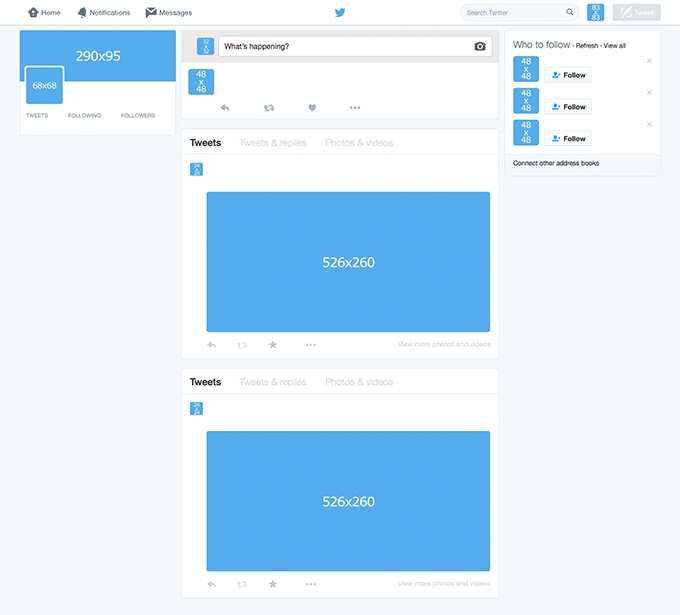 Twitter Template for Students! | CovaisTech