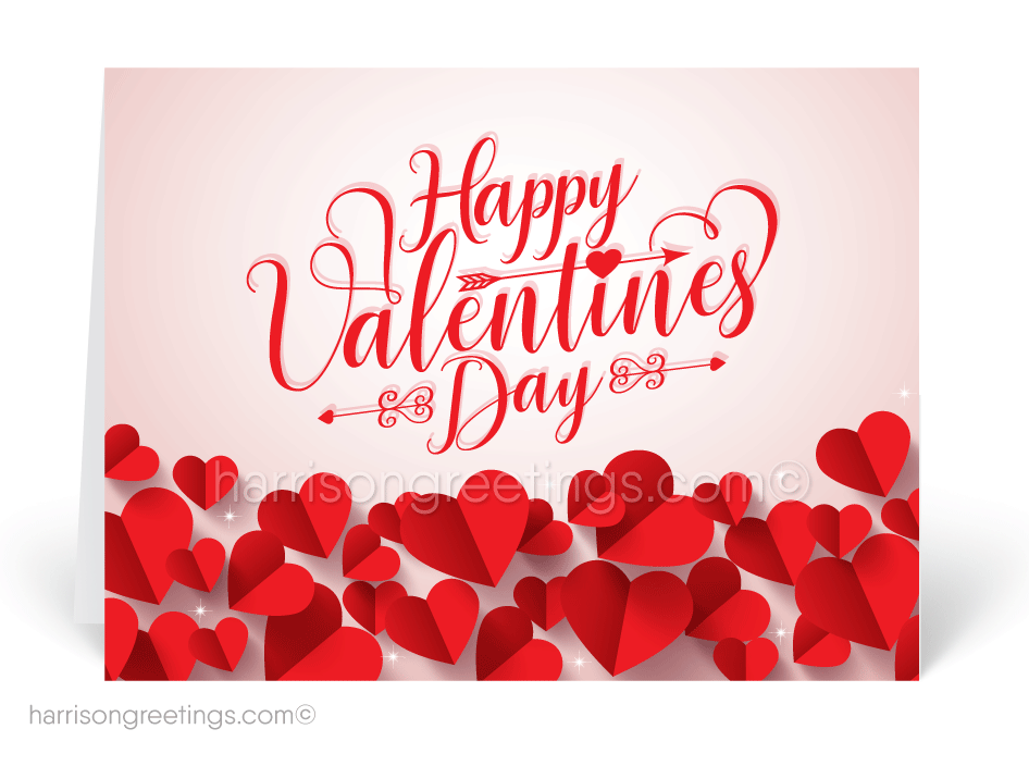 Business Valentine's Day Greeting Cards