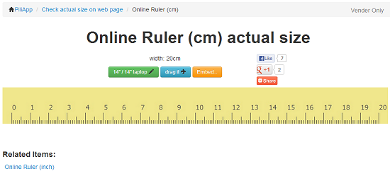 Ruler Pro ++: A virtual ruler that works on all iOS devices App Saga