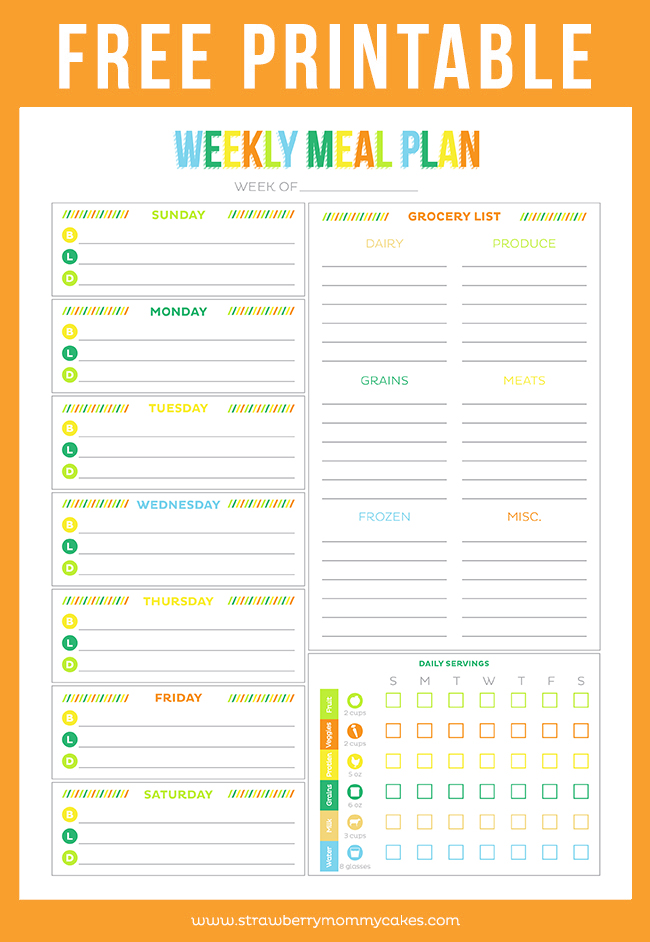 meal plan organizer Coles.thecolossus.co