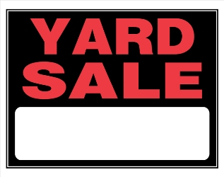 Yard sale signs could come down | My Columbia Basin