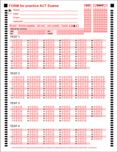 Answer Sheets – BubbleScan