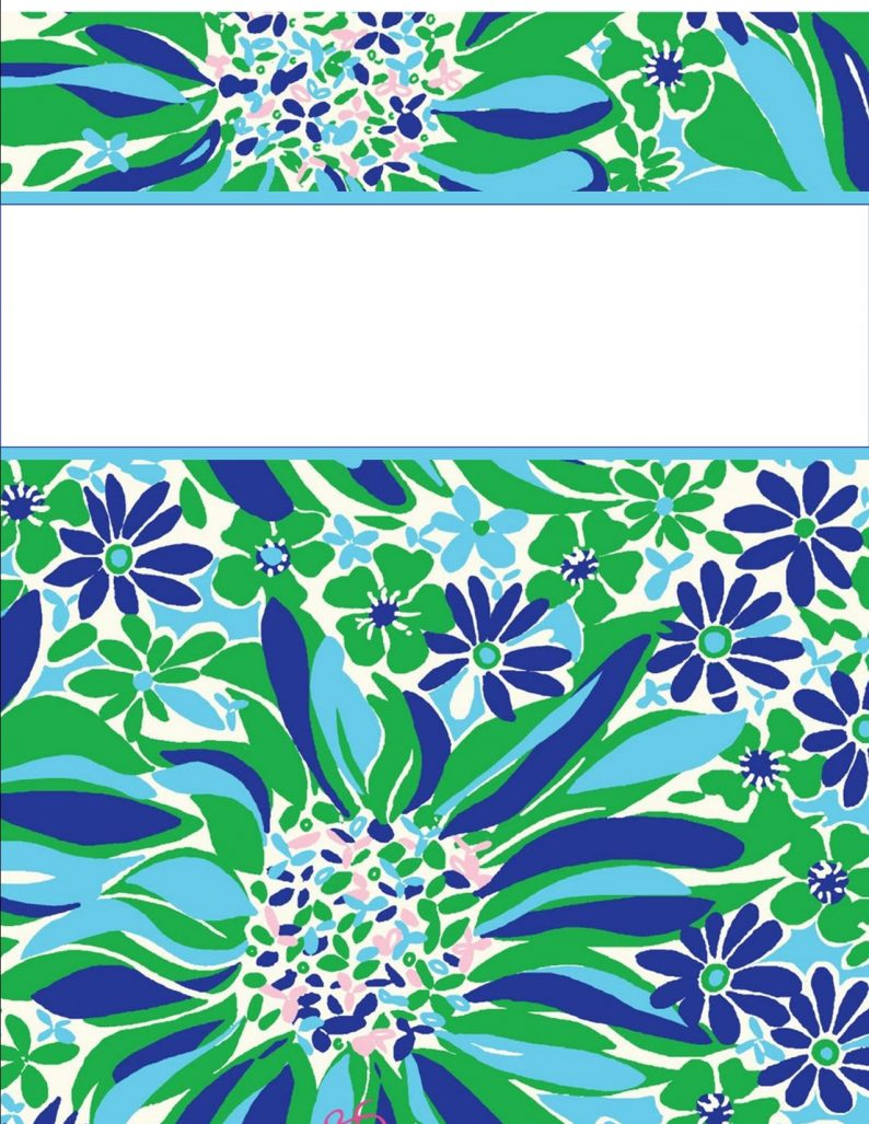 lilly pulitzer binder covers templates Incep.imagine ex.co