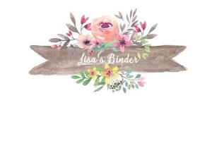 binder cover templates page border