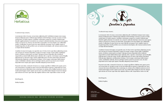 Business Letterhead: Templates & Examples of Business Letterheads