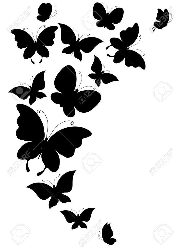 Butterfly, Butterflies, Vector Royalty Free Cliparts, Vectors, And