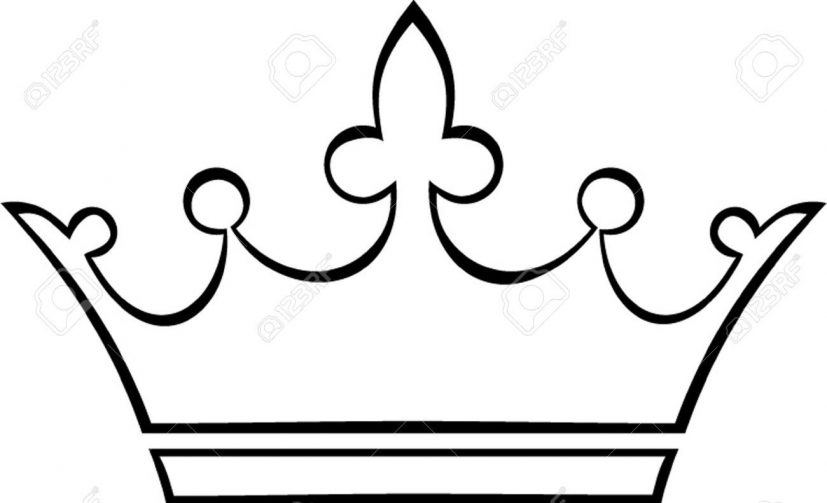 crown outline Stock Vector    | Artsy | Pinterest | Outlines