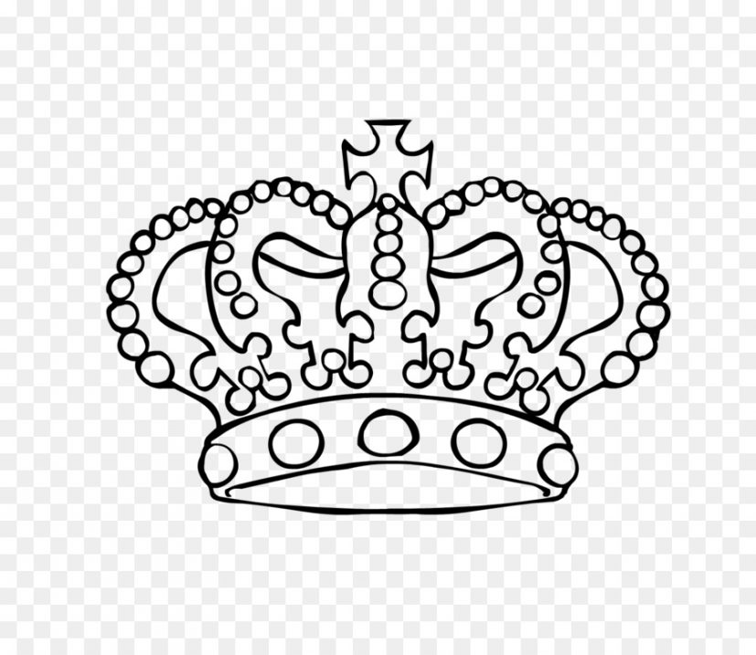 Crown King Clip art   Crown Outline png download   1599*1363
