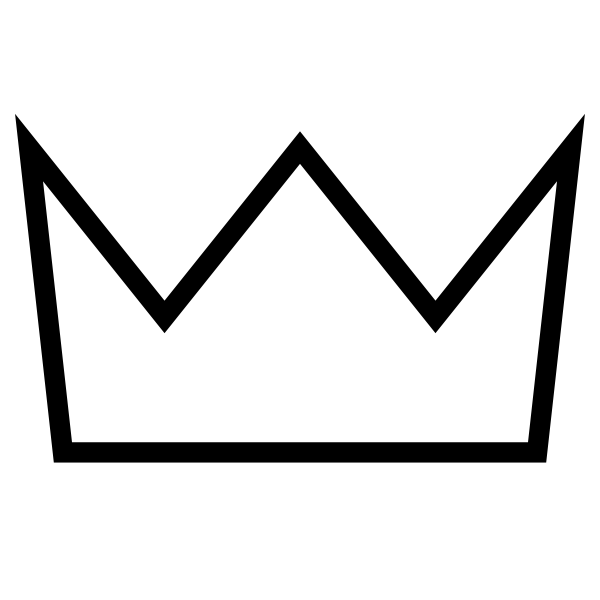 Simple Crown Outline | Clipart Panda   Free Clipart Images