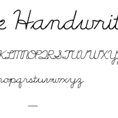 cursive writing fonts cursive handwriting tryout ttf