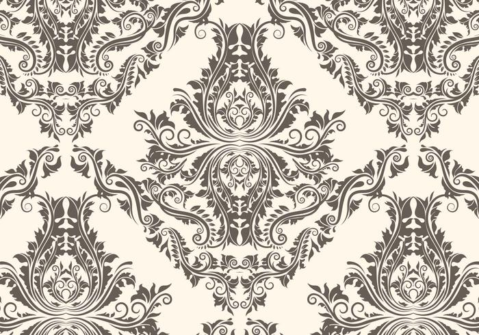 Free damask pattern   Download Free Vector Art, Stock Graphics