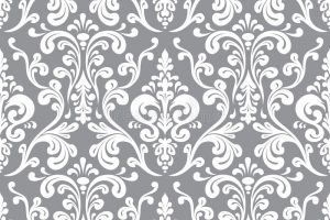 damask pattern vector seamless elegant damask pattern grey white