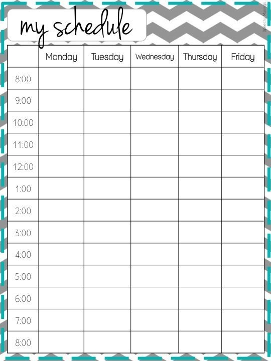 cute hourly planner Incep.imagine ex.co