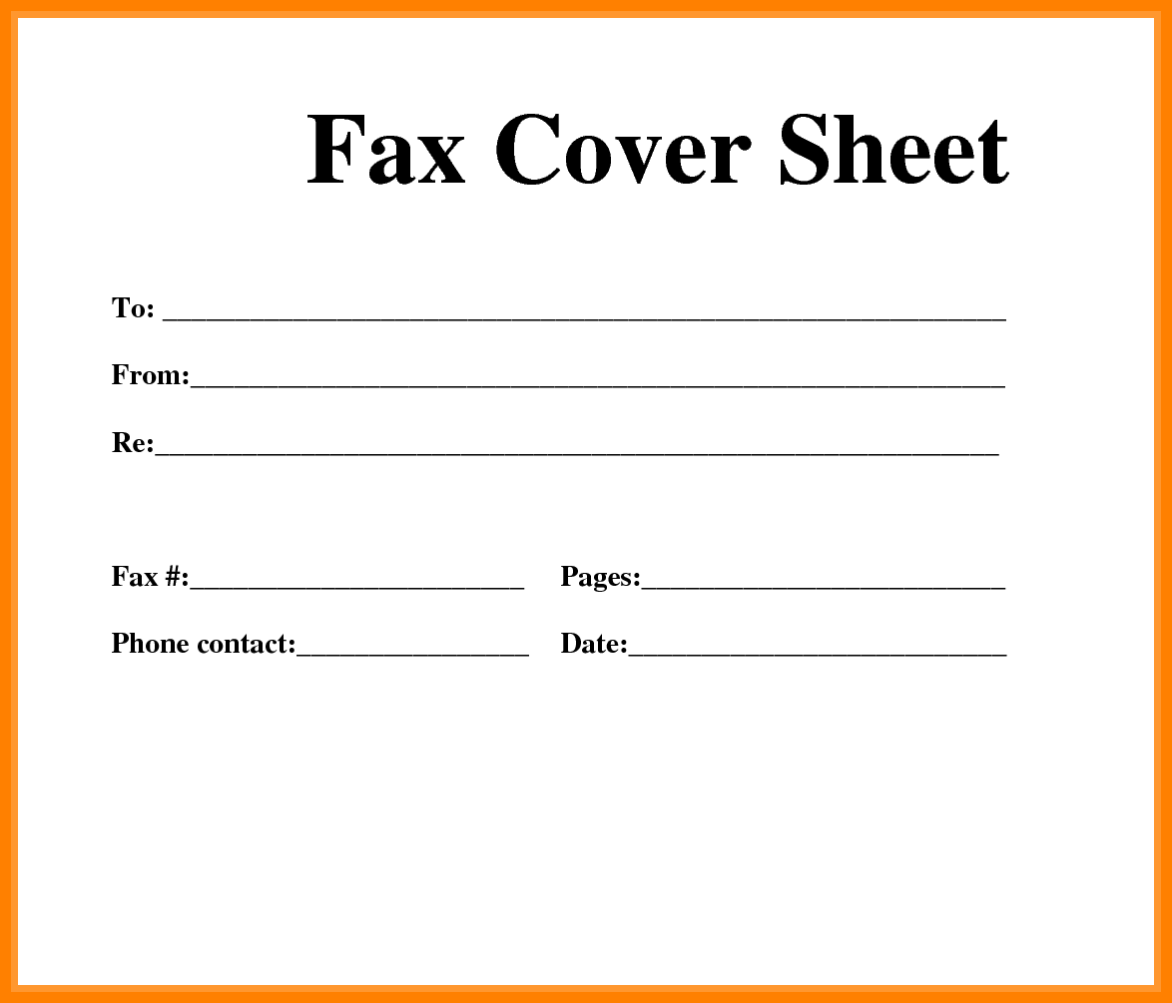 Cover sheet template office fax coversheet flame paper lamp shades