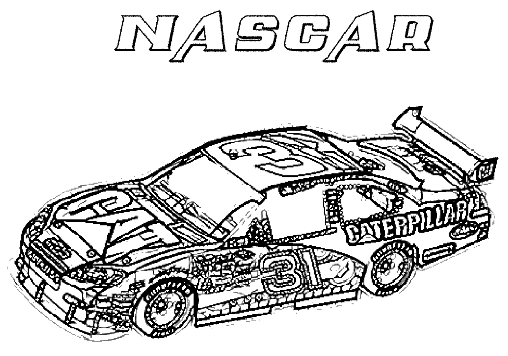 Racing Car Coloring Pages# 2641023