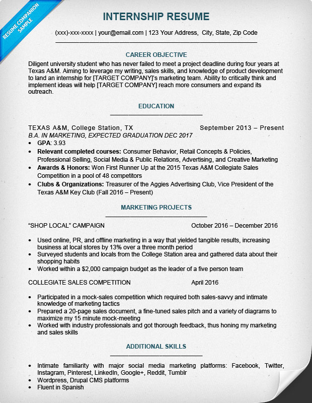 College Resumes Examples. Current College Student Resume Best
