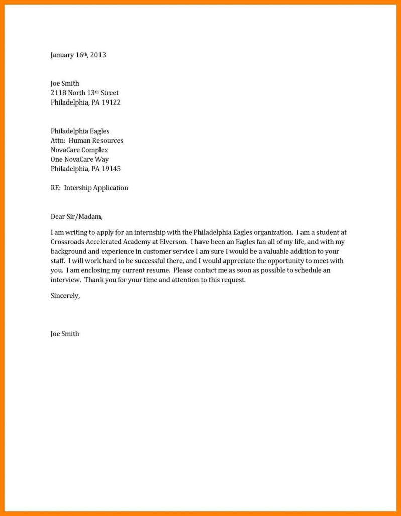 Short And Sweet Cover Letter The Sample Letters Good Example With