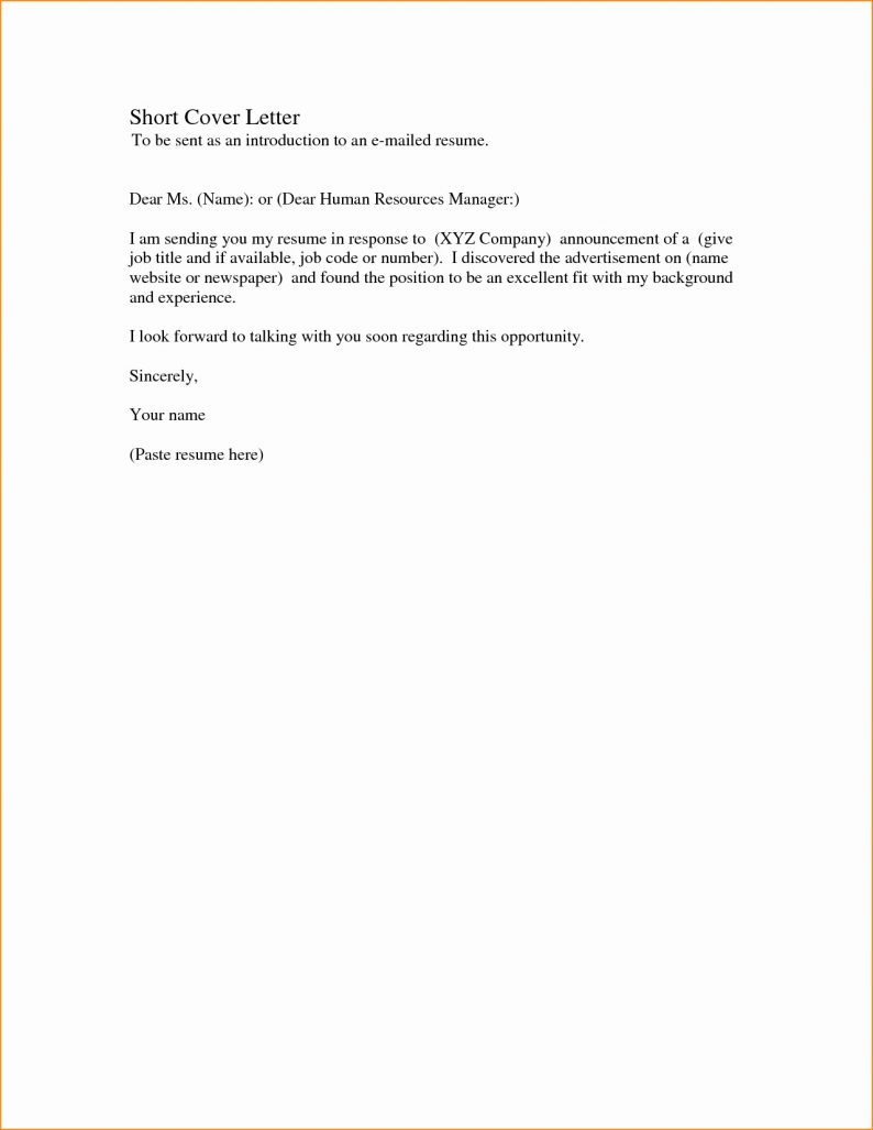 short cover letter example Incep.imagine ex.co