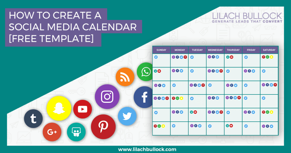 How to Create a Social Media Calendar: A Template for Marketers