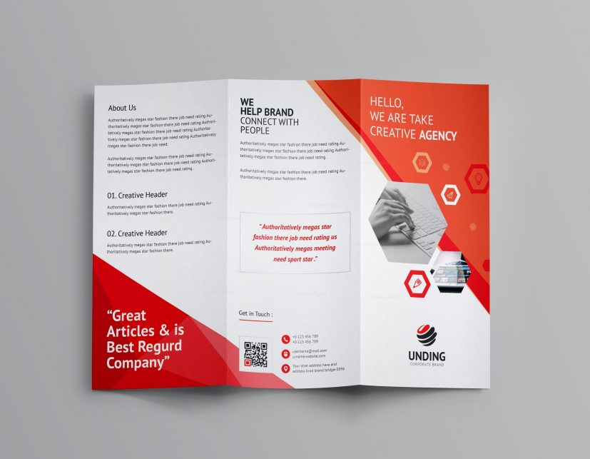 Aeolus Corporate Tri Fold Brochure Template 001159   Template Catalog