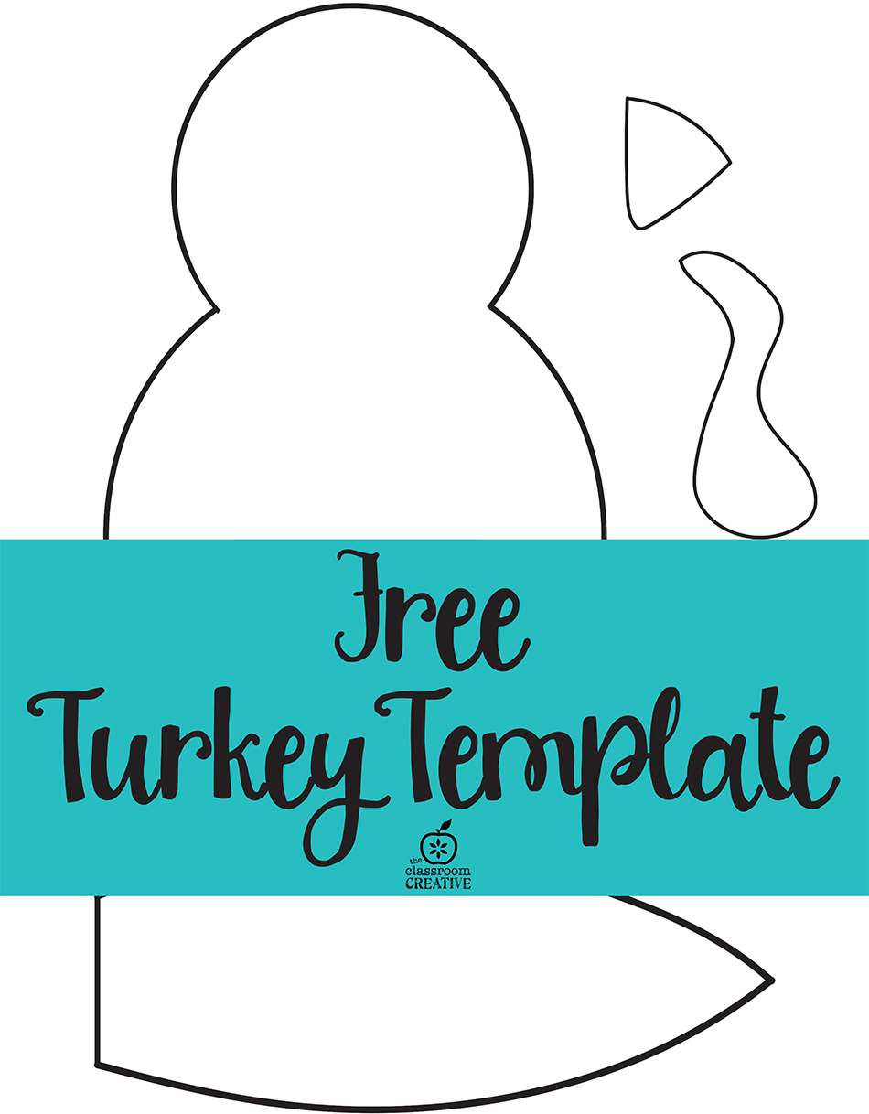 turkey template printable   Google Search | Holiday projects