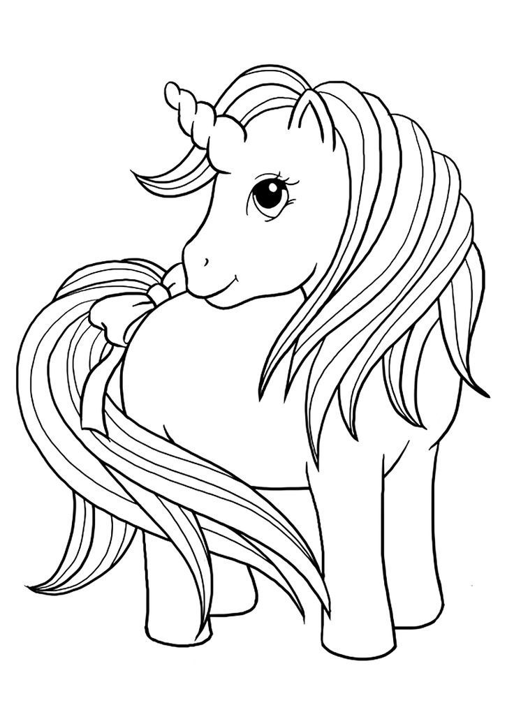 Top 25 Free Printable Unicorn Coloring Pages Online | Magical
