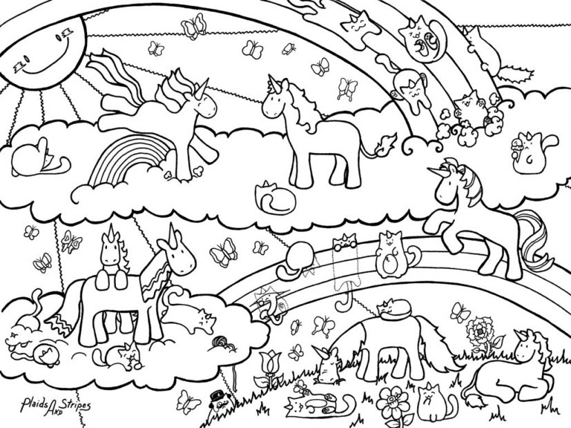 Unicorn Colouring Pages fresh unicorn coloring page 72 for your