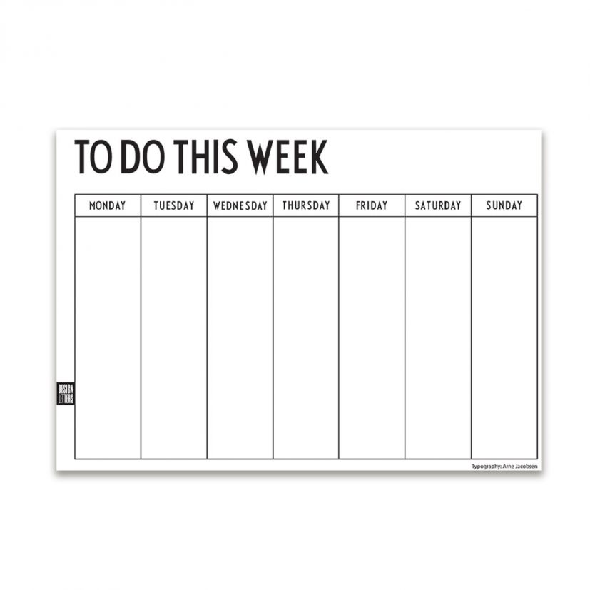 Weekly Planner by Design Letters in the shop