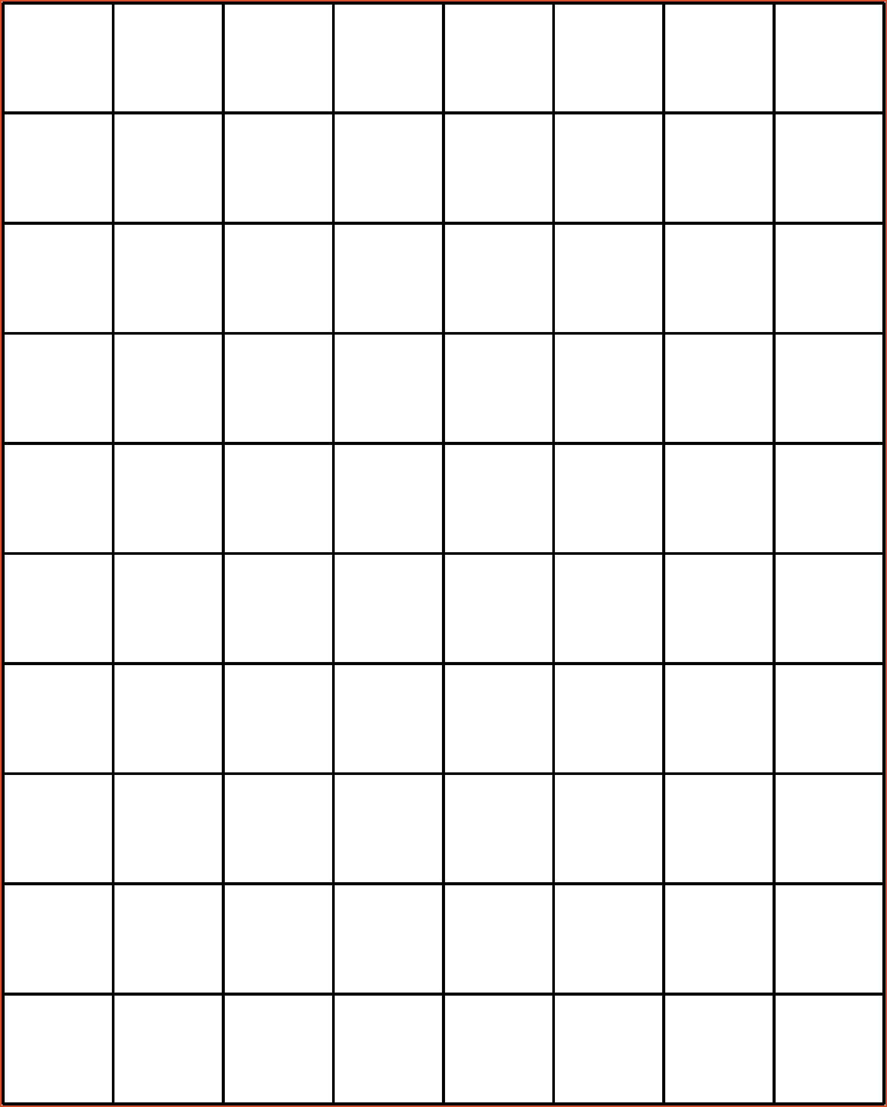 photo regarding 1 Inch Grid Printable known as 1 Inch Grid Paper
