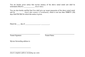 day notice to landlord sample day notice from landlord tenant vacate form relevant concept thus