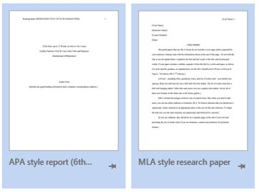 40+ APA Format / Style Templates (in Word & PDF) Template Lab