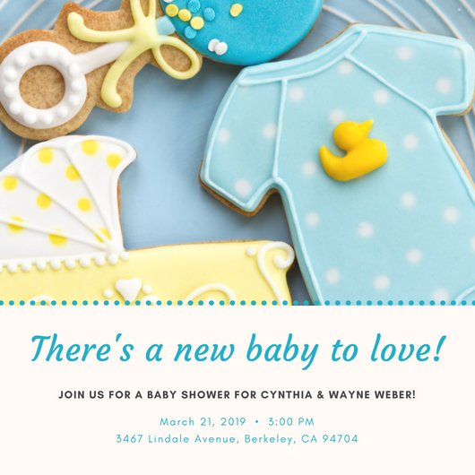 Customize 832+ Baby Shower Invitation templates online Canva