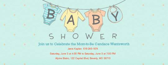 Free Baby Shower Invitations Evite.com