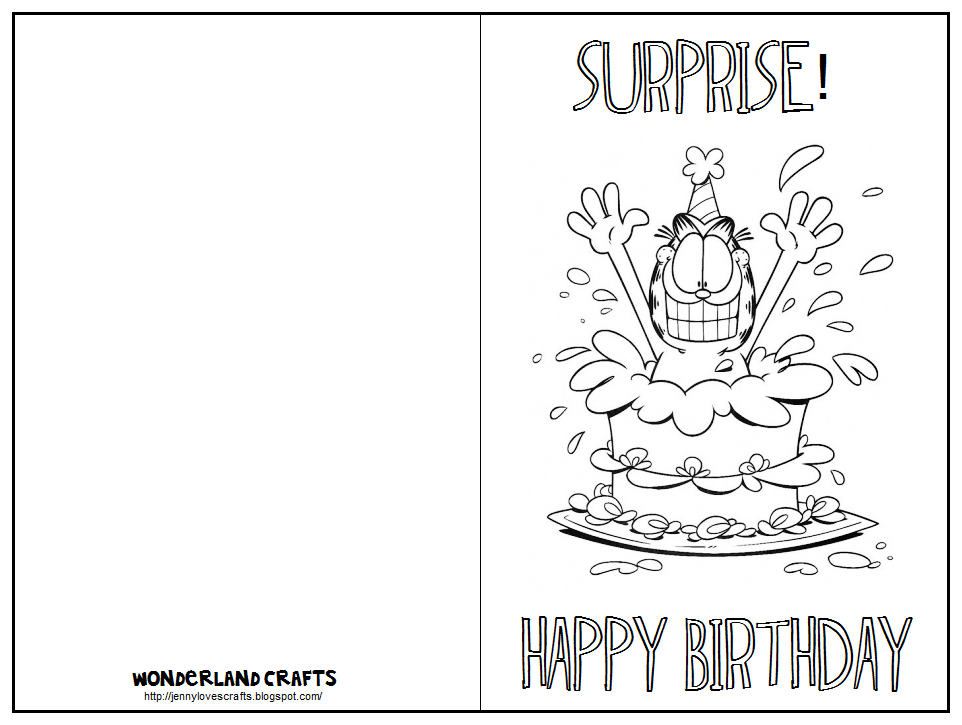 birthday card to print printable online birthday cards