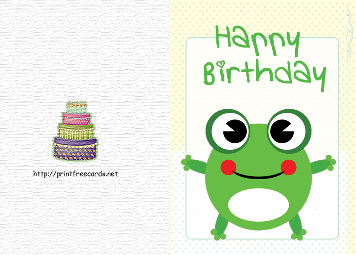 print birthday card greeting cards to print printable birthday